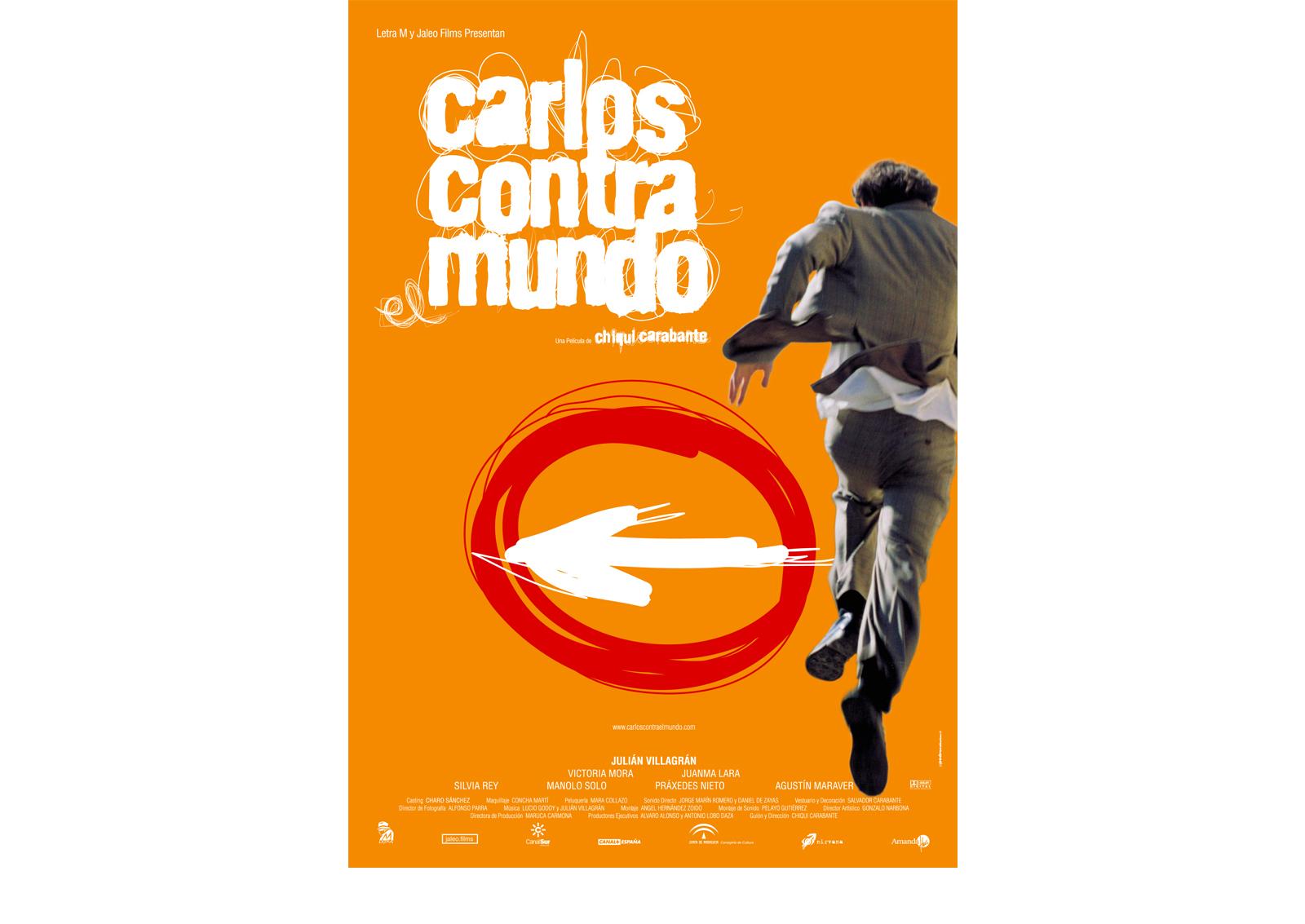 Pedro Cabañas - Design - CARLOS CONTRA EL MUNDO