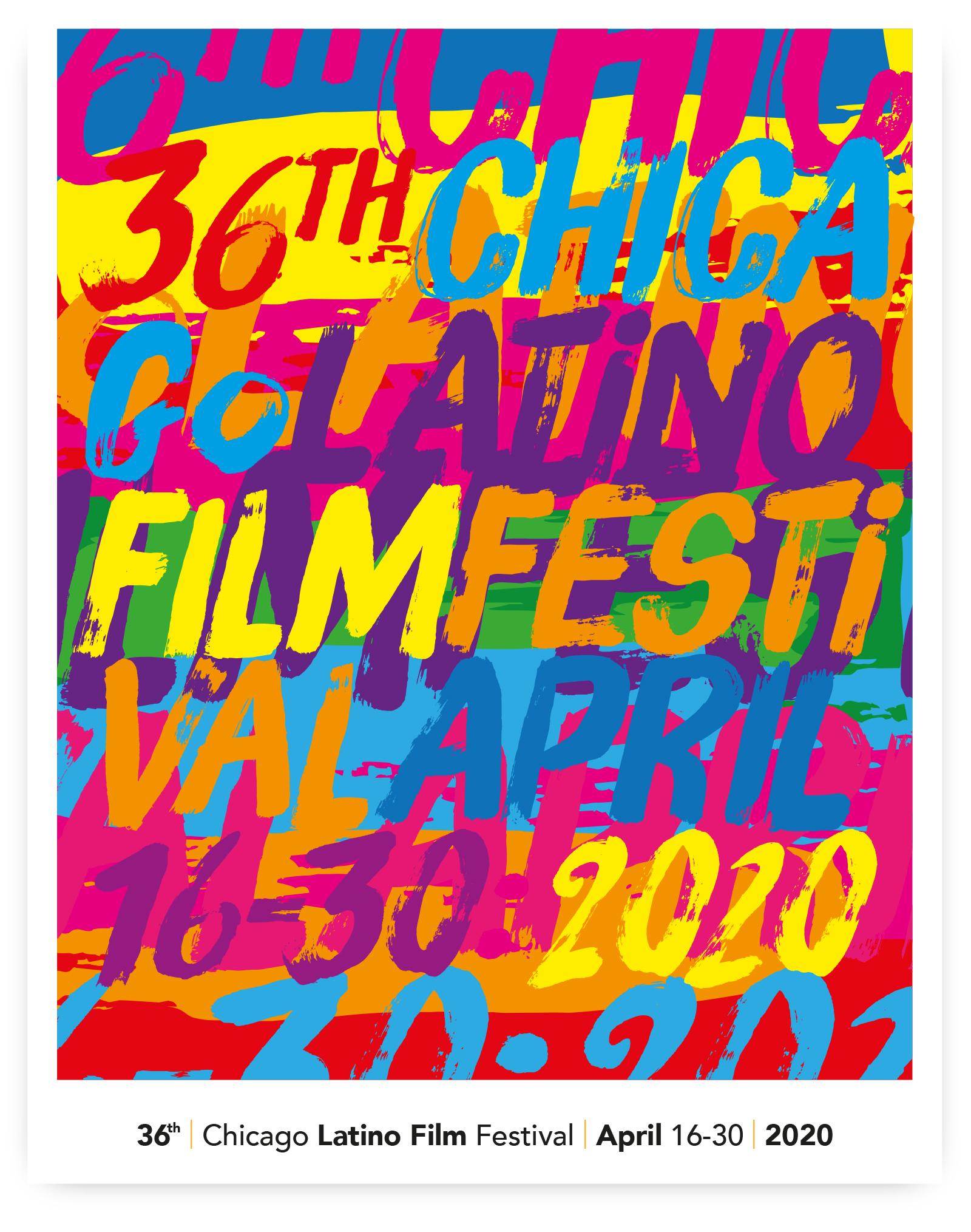 Pedro Cabañas - Design - 36th CHICAGO LATINO FILM FESTIVAL