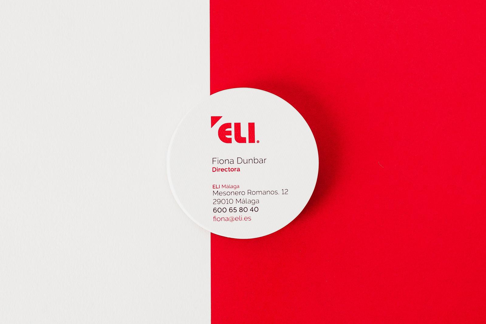 Pedro Cabañas - Design -  BUSINESS CARDS ELI